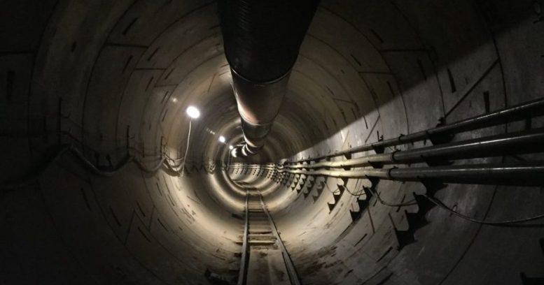 tunel subterraneo en los angeles